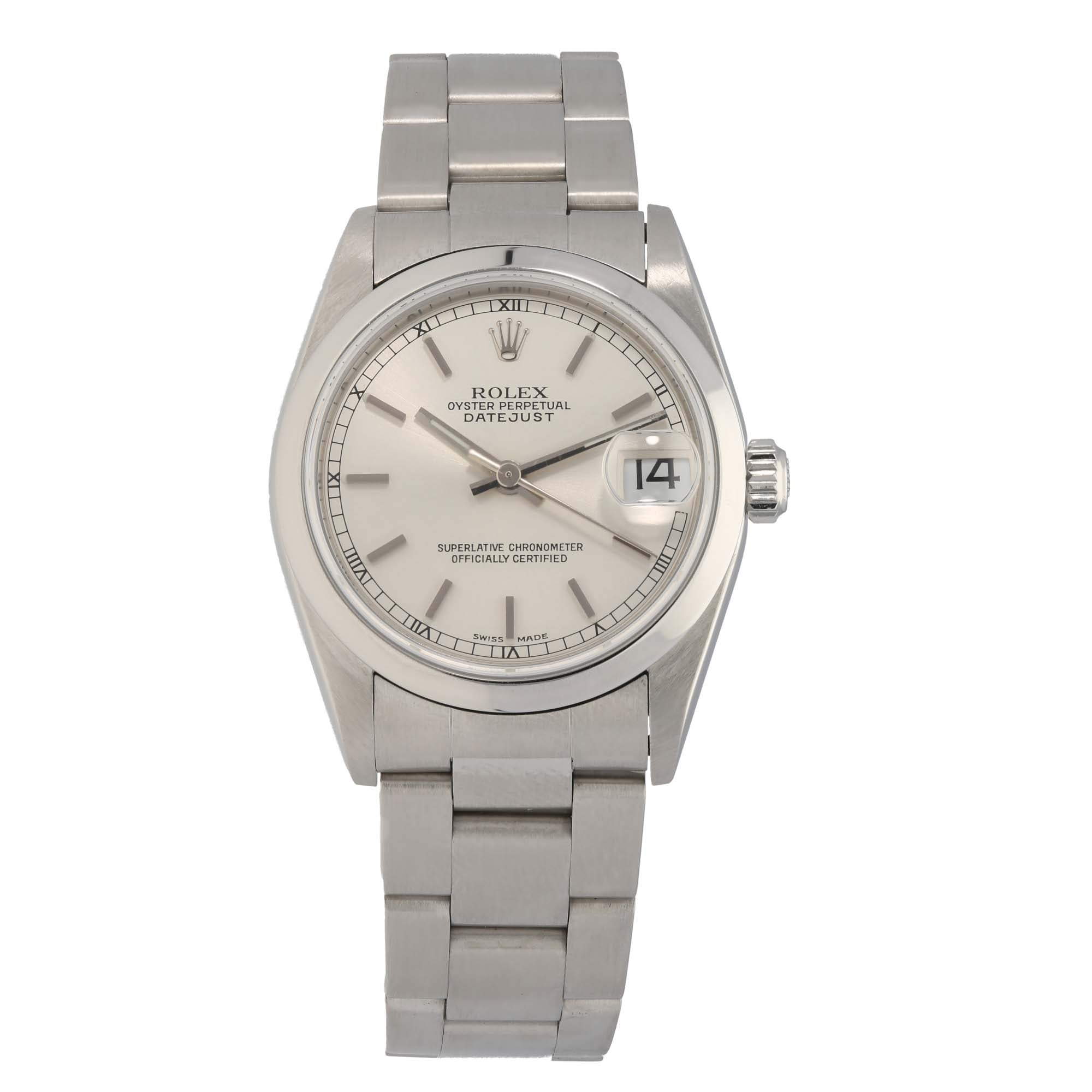 Rolex Datejust 78240 31mm Stainless Steel Unisex Watch