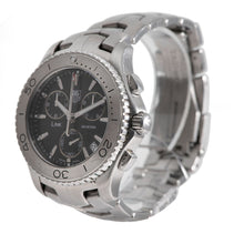 Load image into Gallery viewer, Tag Heuer Link CJ1110 Steel & Black 42mm Mens Watch