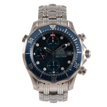 Load image into Gallery viewer, Omega Seamaster Titanium & Blue Chronograph 41.5mm Mens Watch