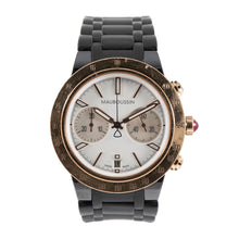 Load image into Gallery viewer, Mauboussin Life For Ever Chronograph 18ct Gold & Cream/Mother Of Pearl 42mm Mens Watch