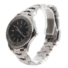 Load image into Gallery viewer, Tag Heuer Link WJ1110-0 Steel & Black 39mm Mens Watch