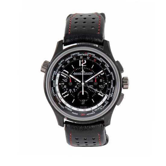 Jaeger-leCoultre Amvox 193.A.C2 44mm Chronograph Black & Titanium Automatic Mens Watch