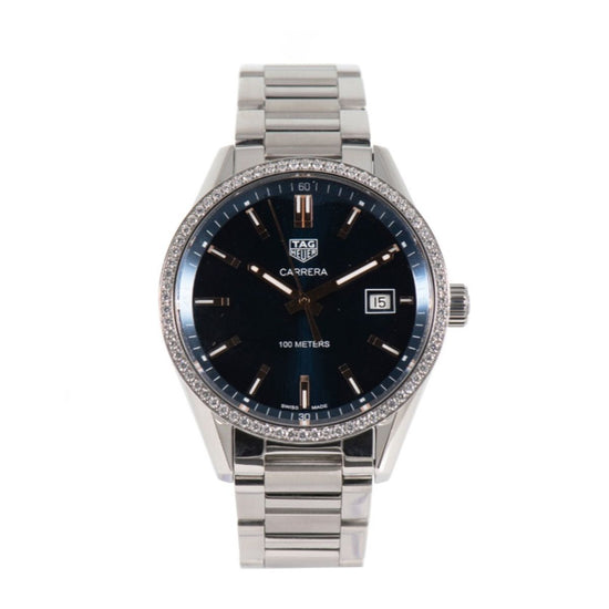 Tag Heuer Carrera WAR1114.BA0601 Automatic 39mm Blue Dial Ladies Watch