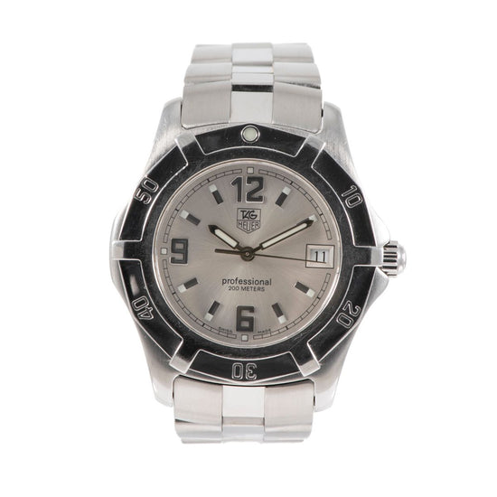 Tag Heuer 2000 Exclusive WN111C-0 Steel & Grey 37mm Mens Watch