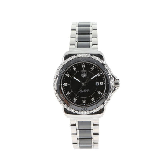 Tag Heuer Formula1 WAH1312 Steel & Black Diamond 32mm Ladies watch