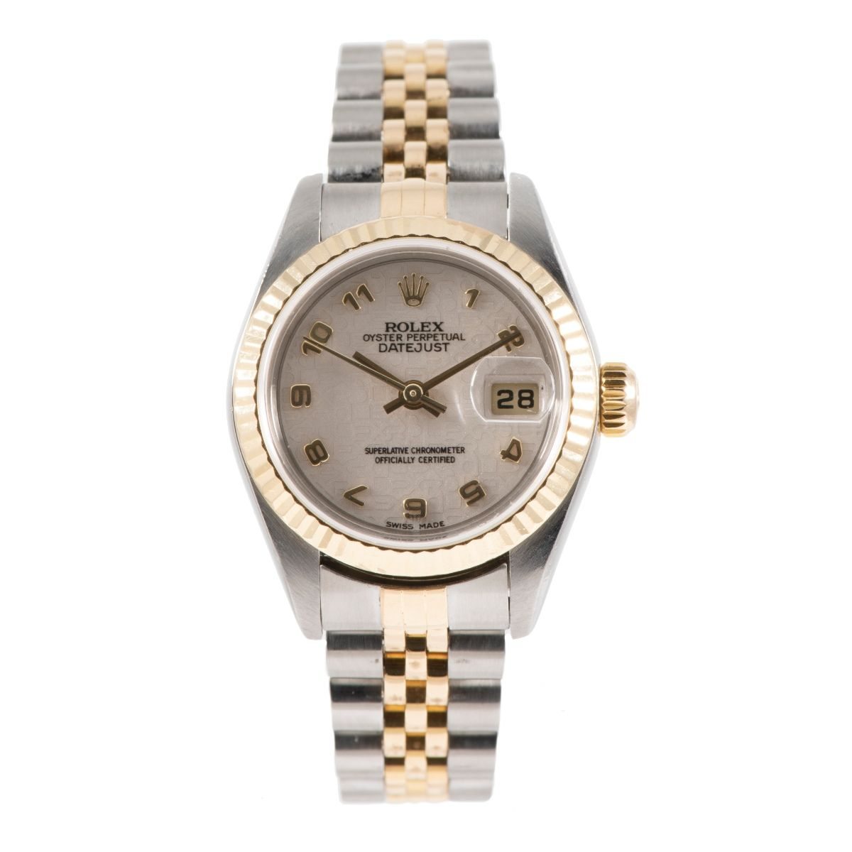Rolex DateJust 79173 Bi-Colour & Cream 26mm Ladies Watch