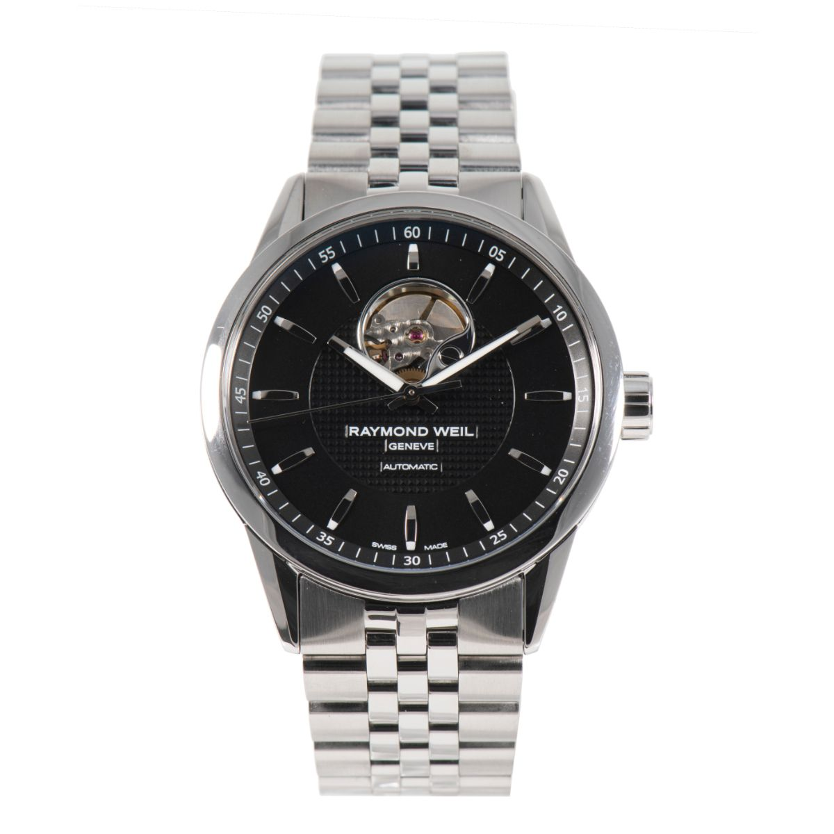 Raymond Weil Freelancer 2710 Steel & Black 42mm Mens Watch