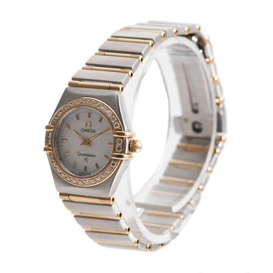 Omega Constellation Bi-Colour & Mother of Pearl 22.5mm Ladies Watch