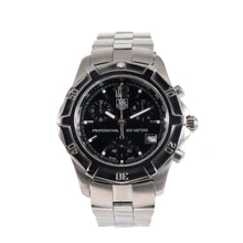 Load image into Gallery viewer, Tag Heuer 2000 Exclusive CN1110 Stainless Steel and Black 38mm Mens Watch