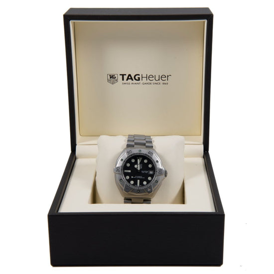 Tag Heuer Super Professional WS2110-2 40mm Black & Stainless Steel Automatic Mens Watch