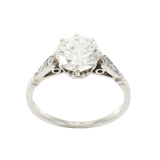 1.64ct Diamond Solitaire Ring (K)