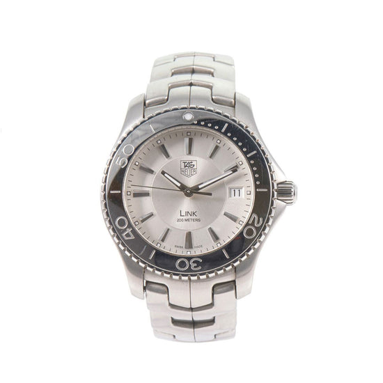 Tag Heuer Link Quartz WJ1111-0 Grey Dial 38mm Mens Watch