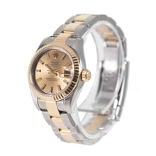 Load image into Gallery viewer, Rolex Datejust 179173 26mm Champagne & Bi-Metal Automatic Ladies Watch