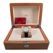 Load image into Gallery viewer, Omega De Ville 424.53.40.20.04.004 18ct Gold & Cream 39.5mm Mens Watch