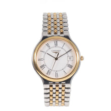 Load image into Gallery viewer, Longines Flagship L5.631.3 White & Steel 33mm Mens Watch