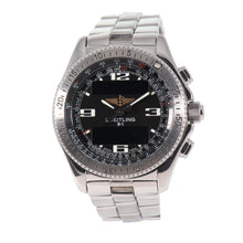 Load image into Gallery viewer, Breitling B1 A68362 Stainless Steel & Black 44mm Mens Watch