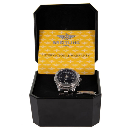 Breitling B1 A68362 Stainless Steel & Black 44mm Mens Watch