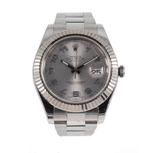 Load image into Gallery viewer, Rolex Datejust II 116334 Steel &Grey 41mm Mens Watch