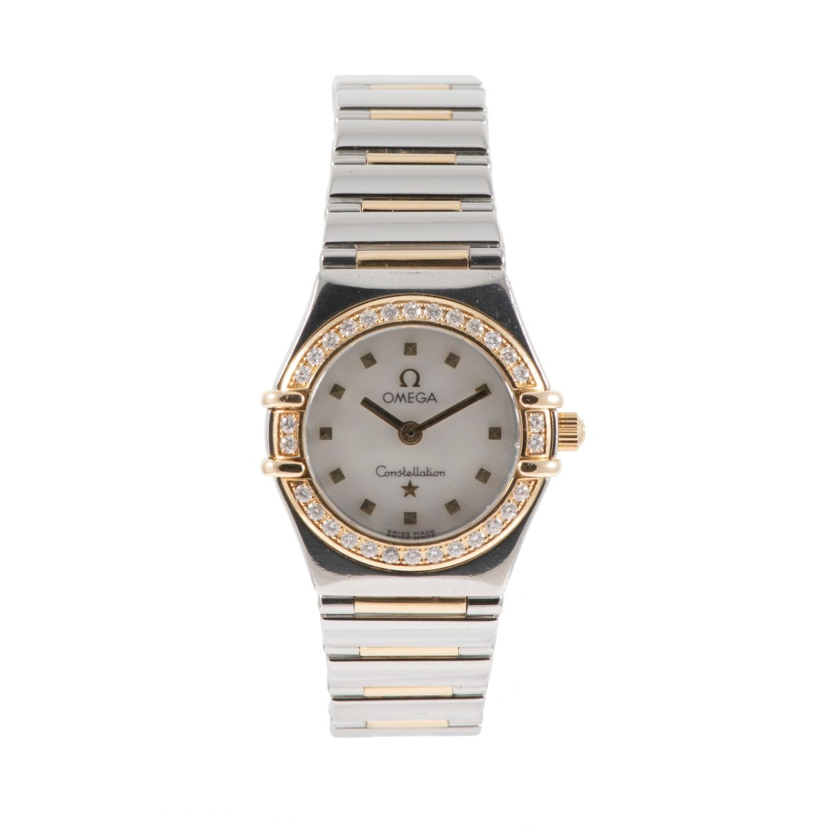 Omega Constellation Bi-Colour & Mother of Pearl 22.5mm Ladies Watch V92R?D