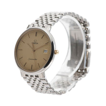 Load image into Gallery viewer, Omega Seamaster Deville Quartz Champagne & Steel Mens Watch