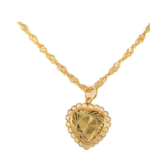 22ct Gold Symbolic Pendant with Chain