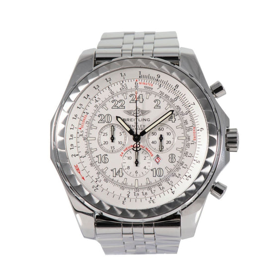 Breitling Bentley A22362 Steel & Cream 49mm Mens Watch