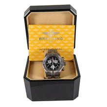 Load image into Gallery viewer, Breitling Chrono Avenger E73360 2003 Black Titanium 44mm Mens Watch