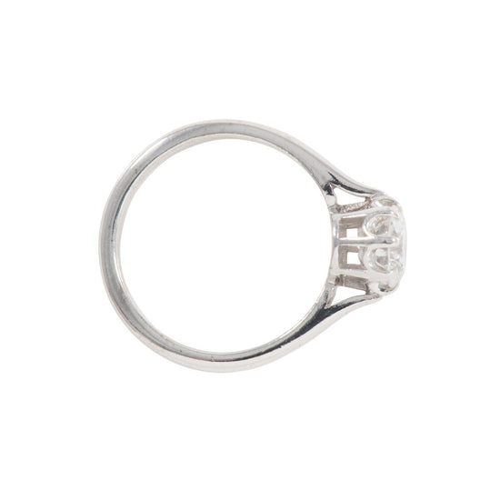 0.95ct Diamond Solitaire Ring (M)