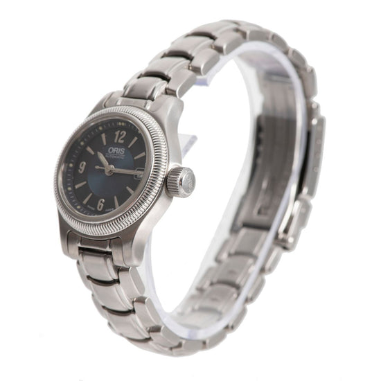 Oris Artelier 7492-41-00 Steel & Blue 27mm Ladies Watch