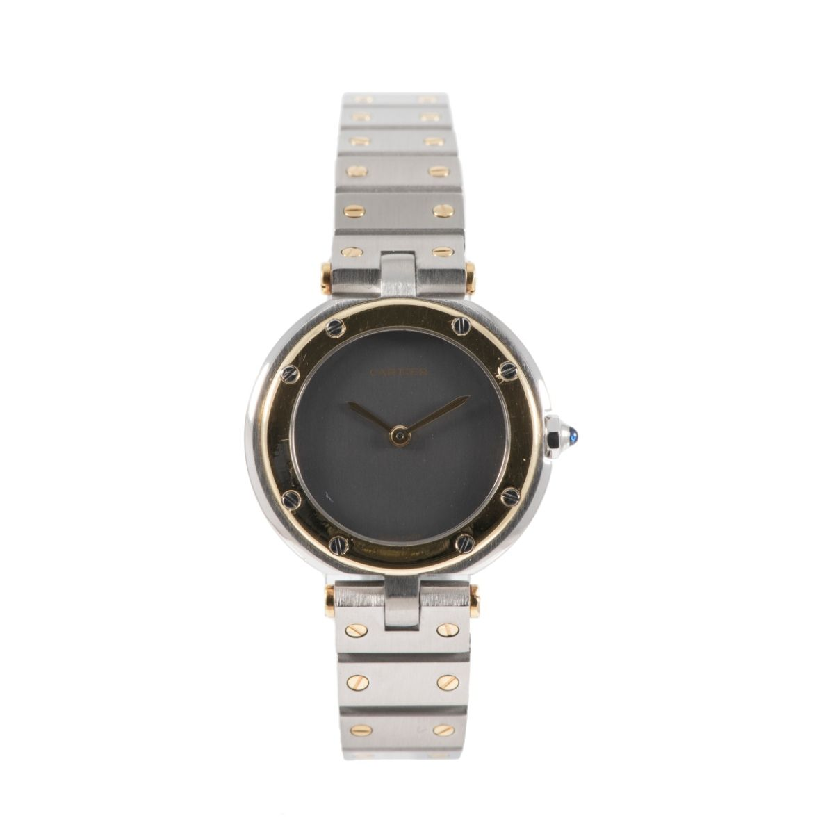 Cartier Santos Ronde Bi-Colour & Grey 27mm Ladies Watch