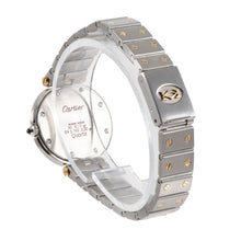 Load image into Gallery viewer, Cartier Santos Ronde Bi-Colour & Grey 27mm Ladies Watch