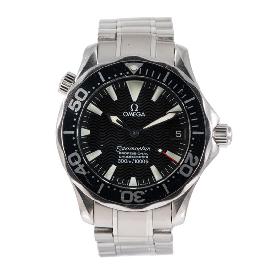 Omega Seamaster 2252.50.00 Steel & Black 36mm Unisex Watch