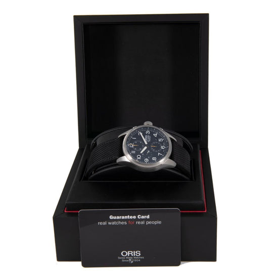Oris Big Crown ProPilot Automatic Chronograph 7699 Black Dial 44mm Mens Watch