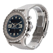 Load image into Gallery viewer, Breitling Chronospace A78365 Steel & Blue 48mm Mens Watch