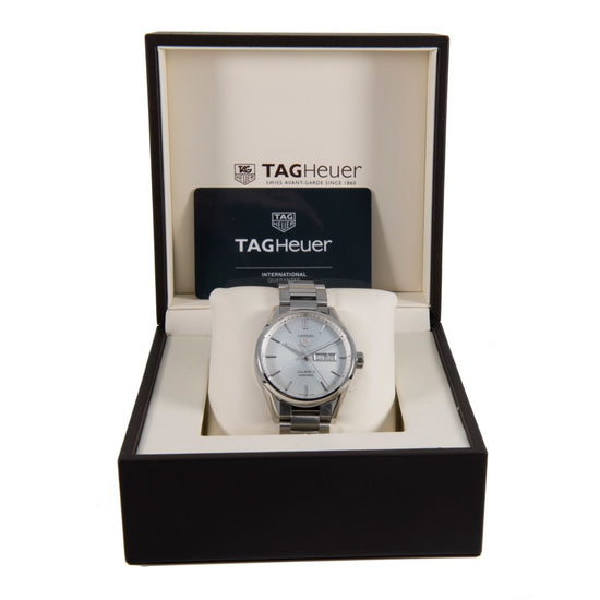 Tag Heuer Carrera WAR201B-1 Steel & Grey 41mm Mens Watch