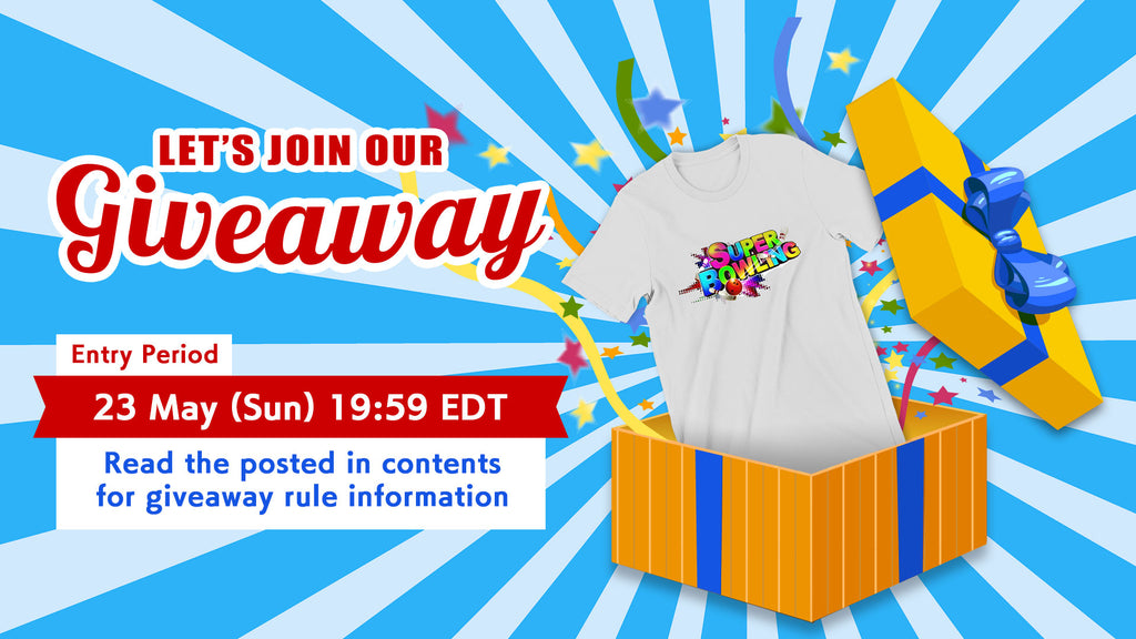[New project!] Let's join our GIVEAWAY
