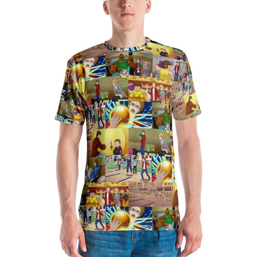 Men's T-shirt - Manga of SUPER BOWLING - - SUPER BOWLING STORE