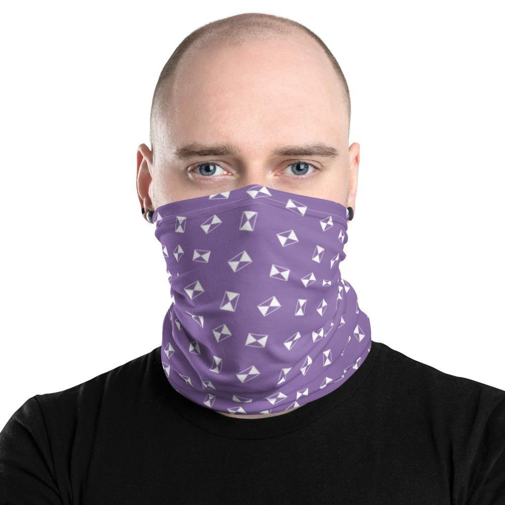 All-in-one Neck Gaiter - Strike on Fuji-iro - - SUPER BOWLING STORE