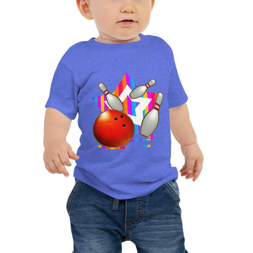Baby Jersey Short Sleeve Tee - Strike Bowling - - SUPER BOWLING STORE