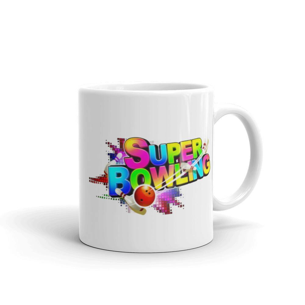 Mug with Super Bowling logo - SUPER BOWLING STORE