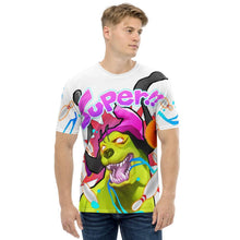 Load image into Gallery viewer, Super Skaty Men's Full Print T-shirt - SUPER BOWLING STORE