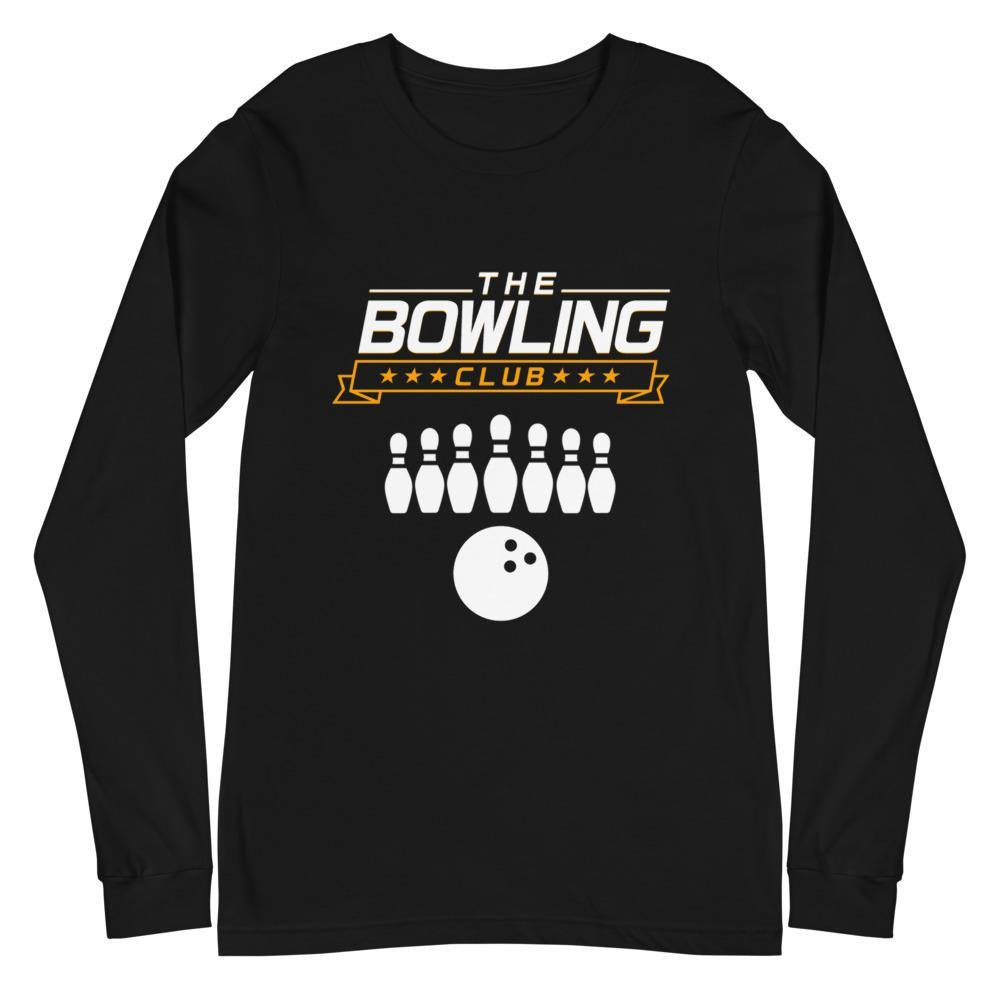 THE BOWLING CLUB Unisex Long Sleeve Tee - SUPER BOWLING STORE