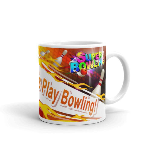 Mug with Let's Play Super Bowling - SUPER BOWLING STORE