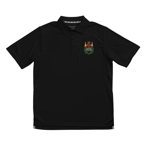 Super Bowling Color-Embroidered Men's Champion performance polo - SUPER BOWLING STORE