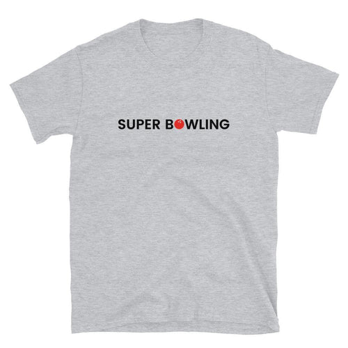 SUPER BOWLING STORE Logo Short-Sleeve Unisex T-Shirt Light Color - SUPER BOWLING STORE