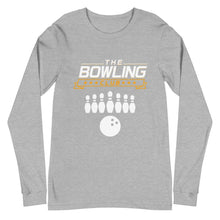 Load image into Gallery viewer, THE BOWLING CLUB Unisex Long Sleeve Tee - SUPER BOWLING STORE