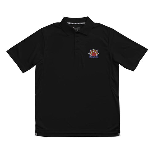 Classic SUPER BOWLING Embroidered Men's Champion performance polo - SUPER BOWLING STORE