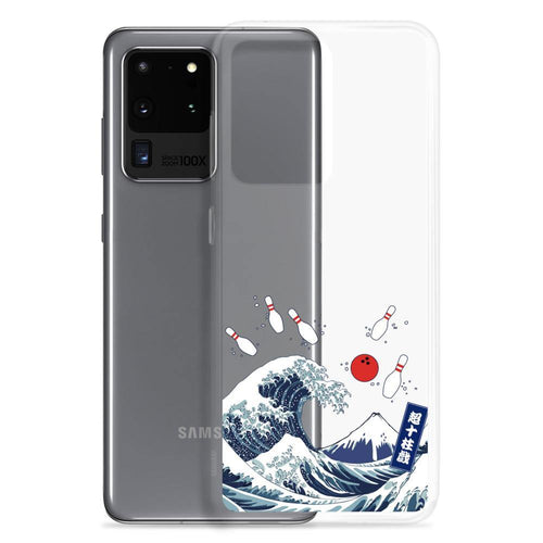 Samsung Case - The Great Bowling Wave - - SUPER BOWLING STORE