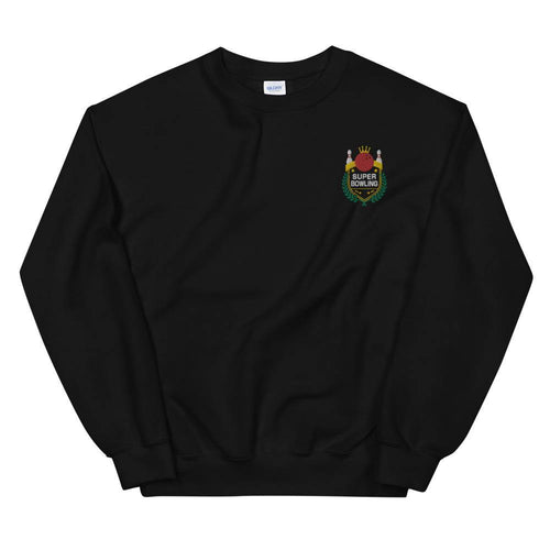 SUPER BOWLING Color-Embroidered Unisex Sweatshirt - SUPER BOWLING STORE