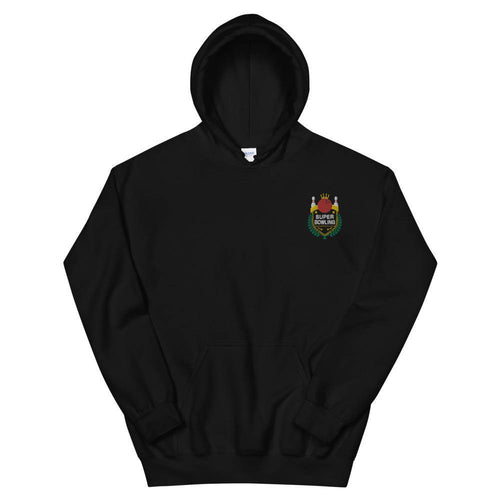 SUPER BOWLING Color-Embroidered Unisex Hoodie - SUPER BOWLING STORE